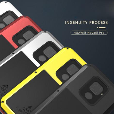 LoveMei Shockproof Dustproof Splashproof Powerful Protective Case For HUAWEI Nova 5i Pro