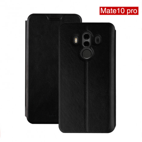migliori scarpe da ginnastica 5b8bf 68670 Mofi Classic Clamshell Thin Contracted PU Leather Case Flip Cover With  Stand Function For Huawei Mate 10 Pro