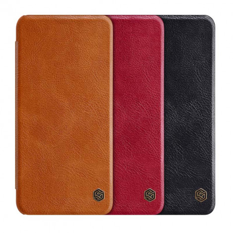 NILLKIN Classic Qin Series Flip Leather Protective Case For HUAWEI P50