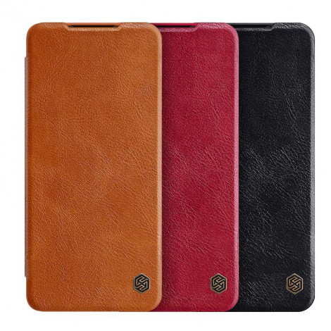 NILLKIN Classic Qin Series Flip Leather Protective Case For HUAWEI P50 Pro