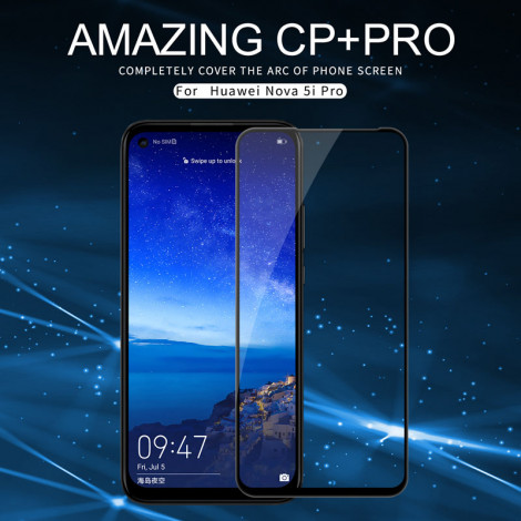 NILLKIN CP+PRO Complete Covering Tempered Glass Screen Protector For HUAWEI Nova 5i Pro