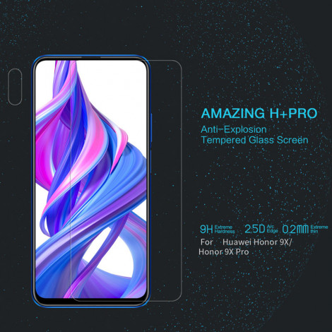 NILLKIN H+ Pro Anti-Explosion Tempered Glass Screen Protector For HUAWEI Honor 9X/Honor 9X Pro