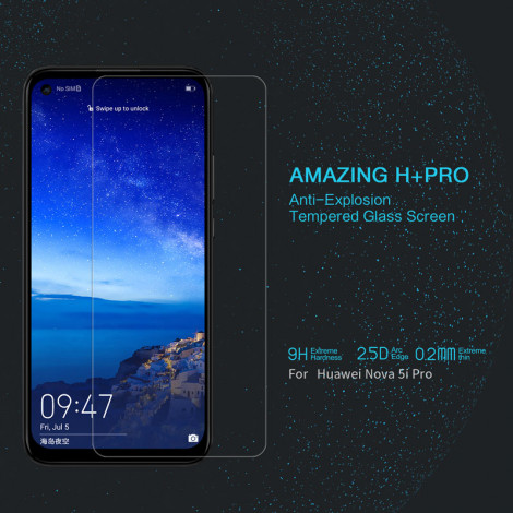 NILLKIN H+ Pro Anti-Explosion Tempered Glass Screen Protector For HUAWEI Nova 5i Pro