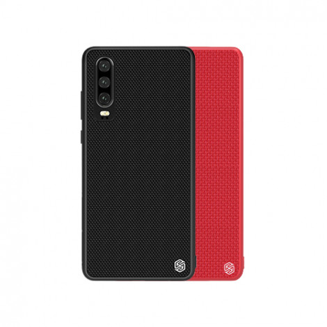 NILLKIN Nylon Fiber Textured With Soft TPU Frame Hard PC Back Case For Huawei P30
