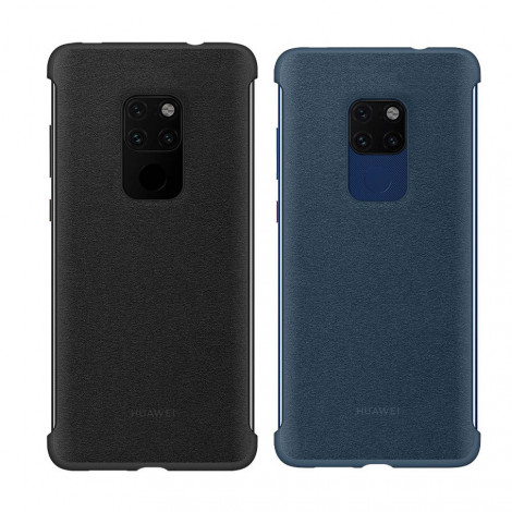 Original Huawei Mate 20 Ultra Thin PU Leather Protective Back Cover Case