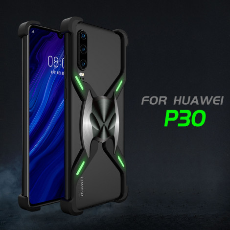 R-Just Frameless Magnetic Adsorption Aluminum Alloy Metal Case For HUAWEI P30/P30 Pro