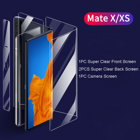 Super Clear & Matte Full Protection Soft Screen Protector For HUAWEI Mate XS/Mate X