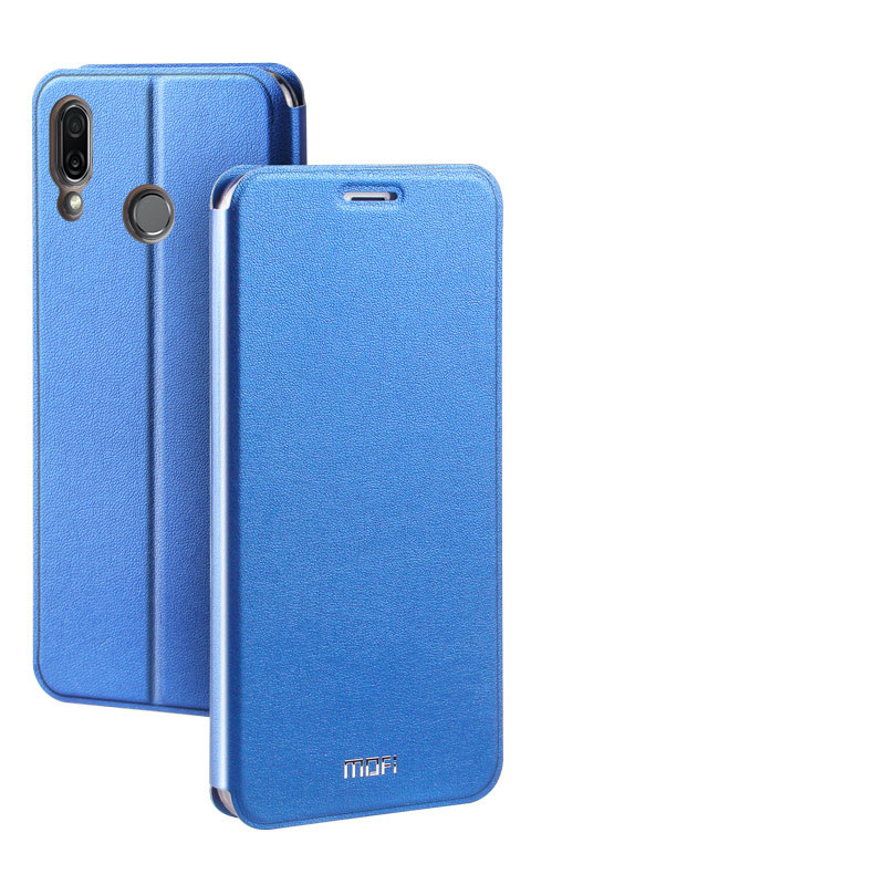 official photos 03350 aed06 Mofi Classic Clamshell Thin Contracted PU Leather Case Flip Cover With  Stand Function For Huawei Honor Play/Honor Note 10