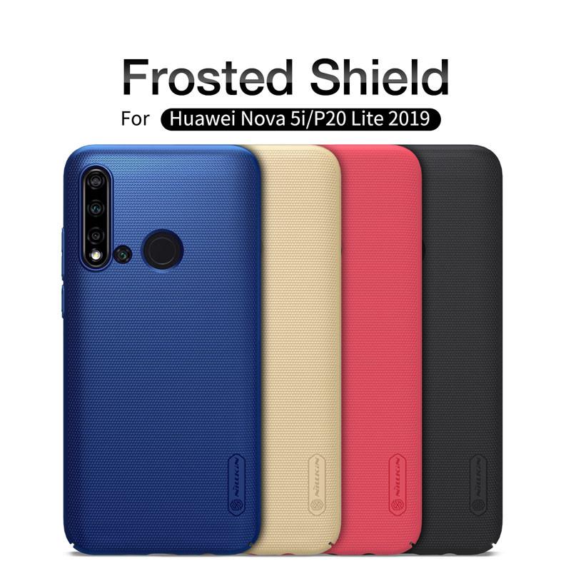 cheaper 0993e c46d5 NILLKIN Super Frosted Shield Hard Protective Case For HUAWEI Nova 5i/P20  Lite 2019