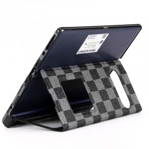 2 in 1 Leather + Border Protective Case For HUAWEI Mate XS/Mate X Grid Texture