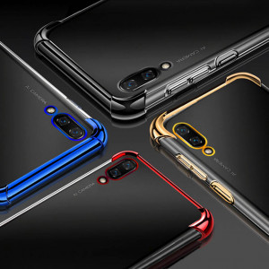 Air Bag Drop-proof Silicone Ultra Thin Transparent Back Cover Case For Huawei Enjoy 9/Enjoy 9 Plus