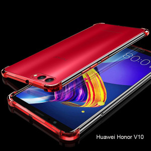 Air Bag Drop-proof Silicone Ultra Thin Transparent Back Cover Case For Huawei Honor 10/V10