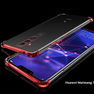 Air Bag Drop-proof Silicone Ultra Thin Transparent Back Cover Case For Huawei Maimang 7/Maimang 6