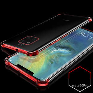 Air Bag Drop-proof Silicone Ultra Thin Transparent Back Cover Case For Huawei Mate 20 Pro/Mate 20/Mate 20X