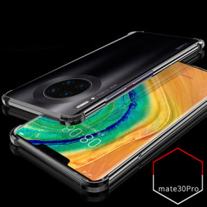 Air Bag Drop-proof Silicone Ultra Thin Transparent Back Cover Case For Huawei Mate 30 Pro/Mate 30