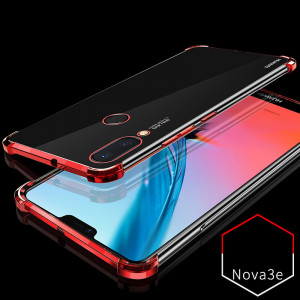 Air Bag Drop-proof Silicone Ultra Thin Transparent Back Cover Case For Huawei Nova 3e/Nova 3i/Nova 3