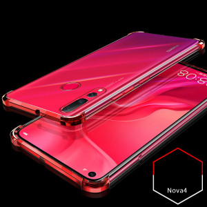 Air Bag Drop-proof Silicone Ultra Thin Transparent Back Cover Case For Huawei Nova 4
