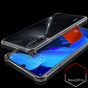 Air Bag Drop-proof Silicone Ultra Thin Transparent Back Cover Case For HUAWEI Nova 5 Pro/Nova 5/Nova 5i Pro/Nova 5i