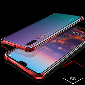 Air Bag Drop-proof Silicone Ultra Thin Transparent Back Cover Case For Huawei P20 Pro/P20