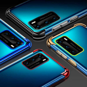 Air Bag Drop-proof Silicone Ultra Thin Transparent Back Cover Case For HUAWEI P40 Pro