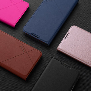 ALIVO PU Leather Flip Cover Case With Card Slots For Huawei Enjoy 9 Plus/Enjoy 9