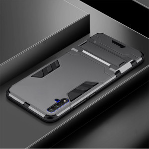 Armor Style Silicone Protective Case With Stand Function For HUAWEI Nova 5 Pro/Nova 5/Nova 5i