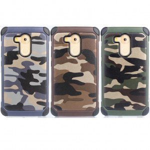 Camouflage Series Soft Silicone+Toughness PC Cover Case For Huawei Mate 8