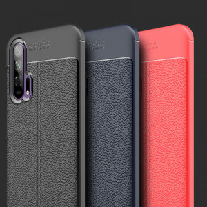 Carbon Fiber Brushed Grain Soft Silicone Protective Case For HUAWEI Honor 20i/Honor 20 Pro/Honor 20