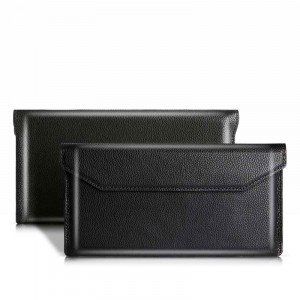 Classic Envelope Style Genuine Leather Case For HUAWEI Mate Xs/Mate X