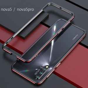 Double Color Metal Bumper Protective Case For HUAWEI Nova 5 Pro/Nova 5/Nova 5i