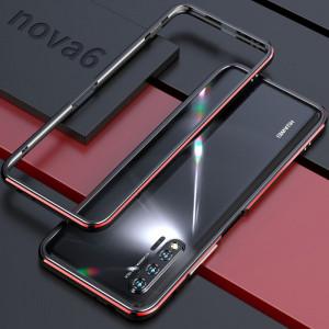 Double Color Metal Bumper Protective Case For HUAWEI Nova 6