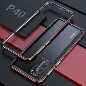 Double Color Metal Bumper Protective Case For HUAWEI P40 Pro/P40