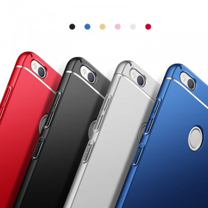 Double Lines Ultra Thin Full Surround Skin Feeling PC Hard Cover Case For Huawei Honor 8/8 Lite