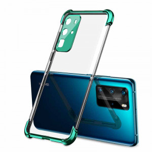 Drop-proof Air Bag Silicone Ultra Thin Transparent Back Cover Case For HUAWEI P40 Pro/P40