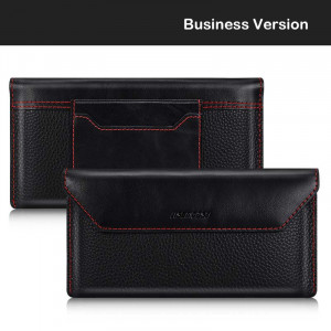 Fashion Business Envelope Wallet Style Genuine Leather Case For HUAWEI Mate Xs