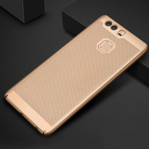Heat Dissipation Design Micro Frosted Hard PC Anti-fingerprint Slim Phone Case For Huawei P9 Plus/P9