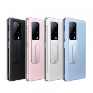 High Quality PU+PC Protective Case With Convenient Holder For HUAWEI Mate X2