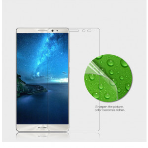 High Quality Super Clear Anti-fingerprint Protective Screen Protector For Huawei Mate 8