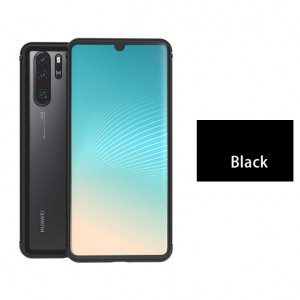 LoveMei Shadow Series Tempered Glass Back Cover With Metal+TPU Frame For Huawei P30 Pro