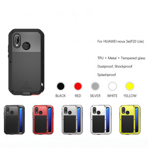 LoveMei Shockproof Dustproof Splashproof Powerful Protective Case For Huawei P20 Lite/Nova 3e