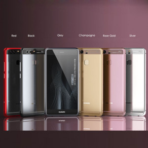 Luphie Blade Sword Aluminum Alloy Metal Bumper Protective Case For Huawei P9