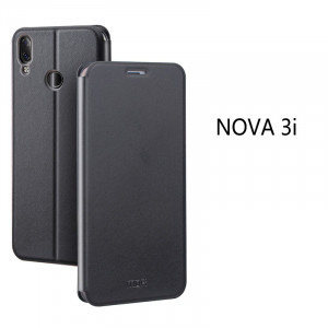 Mofi Classic Clamshell Thin Contracted PU Leather Case Flip Cover For Huawei Nova 3/3i/3e/P20 Lite