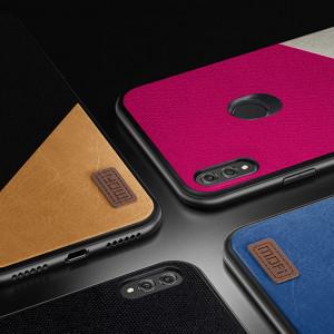 Mofi Classic Cloth PU Leather Art Splice Slim Cover Case For Huawei Honor 8X Max/8X