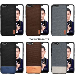 Mofi Classic Cloth PU Leather Art Splice Slim Cover Case For Huawei Honor Note 10/Honor V10/Honor 10
