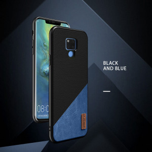 Mofi Classic Cloth PU Leather Art Splice Slim Cover Case For Huawei Mate 20 Pro/Mate 20X/Mate 20