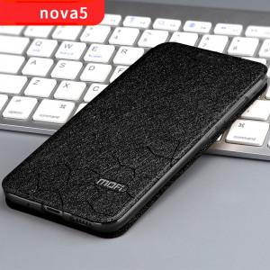 Mofi Classic Silk Series Flip Leather Protective Case For HUAWEI Nova 5 Pro/Nova 5