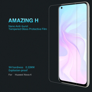 NILLKIN Amazing H Anti-Explosion Tempered Glass Screen Protector For Huawei Nova 4