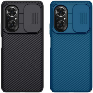 NILLKIN CamShield Slide Cover Camera Protection Back Cover Case For HUAWEI Honor 50 SE