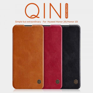 NILLKIN Classic Qin Series Flip Leather Protective Case For HUAWEI Honor 20i/Honor 10i