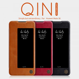 NILLKIN Classic Qin Series Flip Leather Protective Case For HUAWEI Mate 30